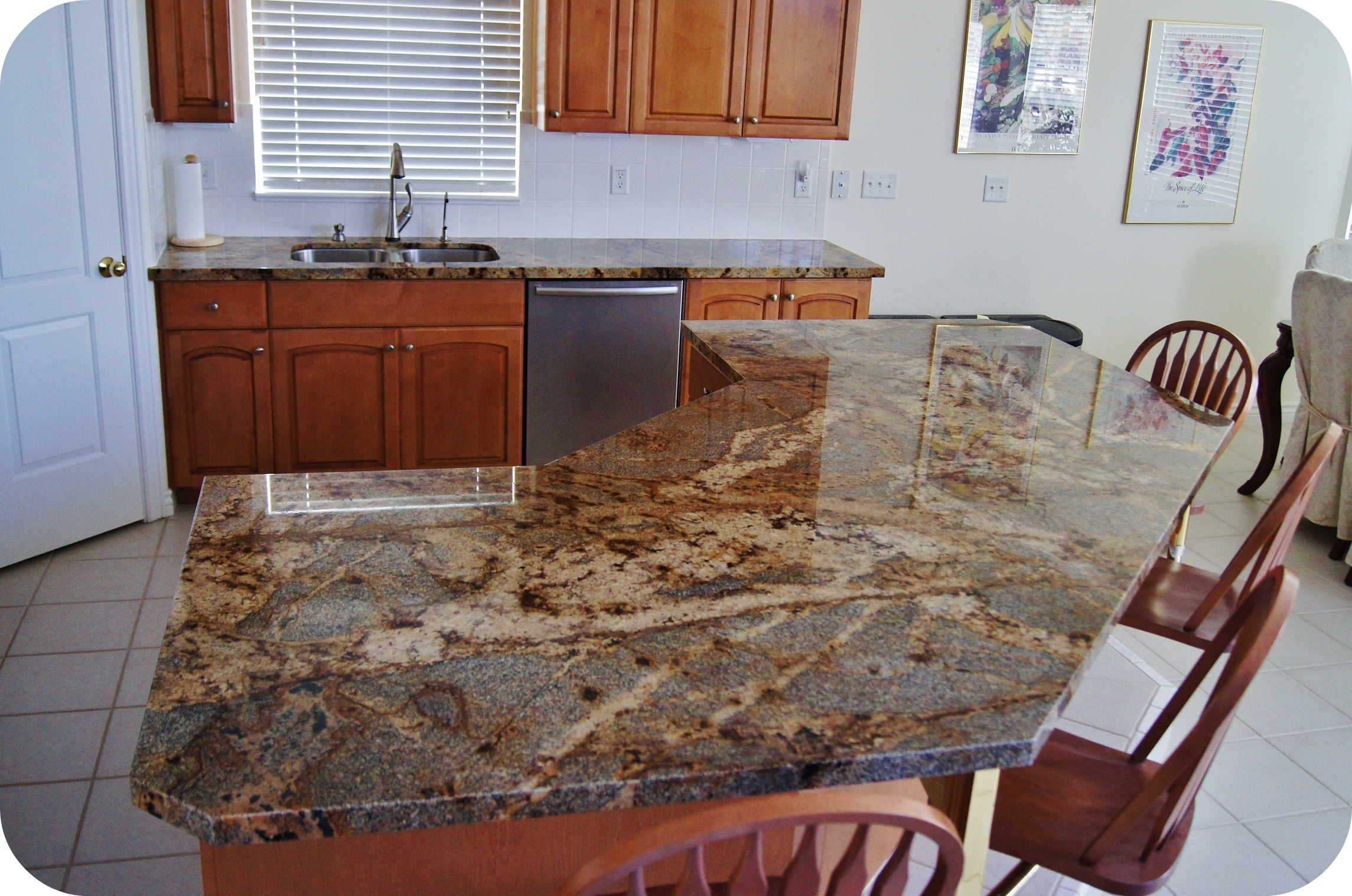 Different Countertop Surfaces Lapidus Granite Kitchen Mele Tile And Natural Stone
