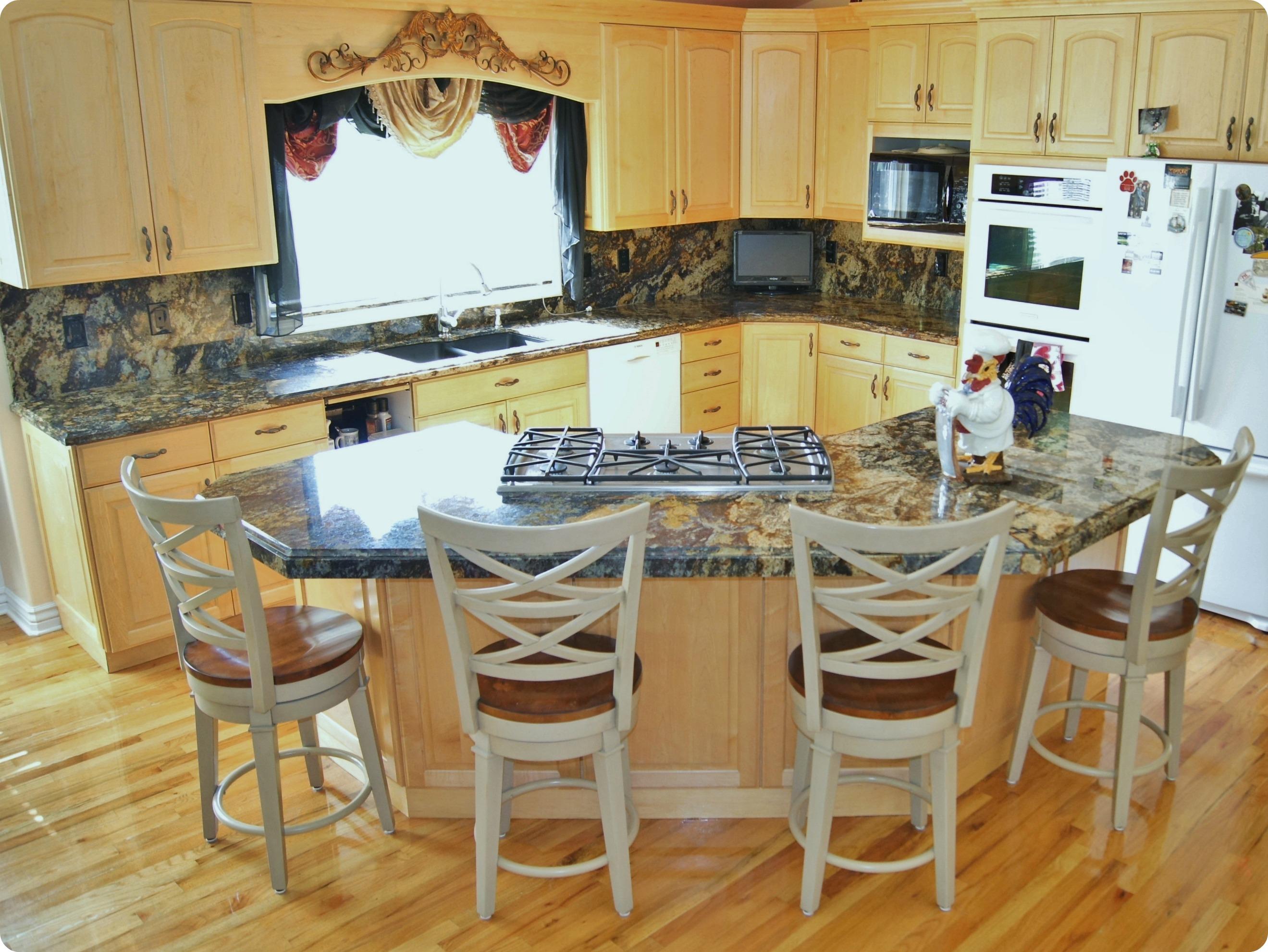 purple dunes granite kitchen 2 types of kitchen countertops The