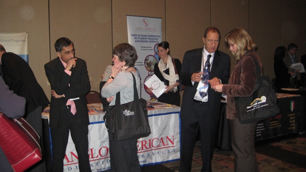 Anglo American Educational Services Booth