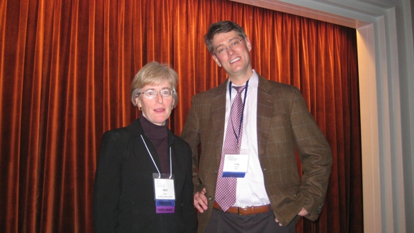 Mell Bollen (BCA Study Abroad) and Dr. Craig Shealy