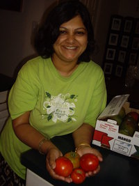Rinku from Cooking with Rinku - Indian food and the smell and taste of culture