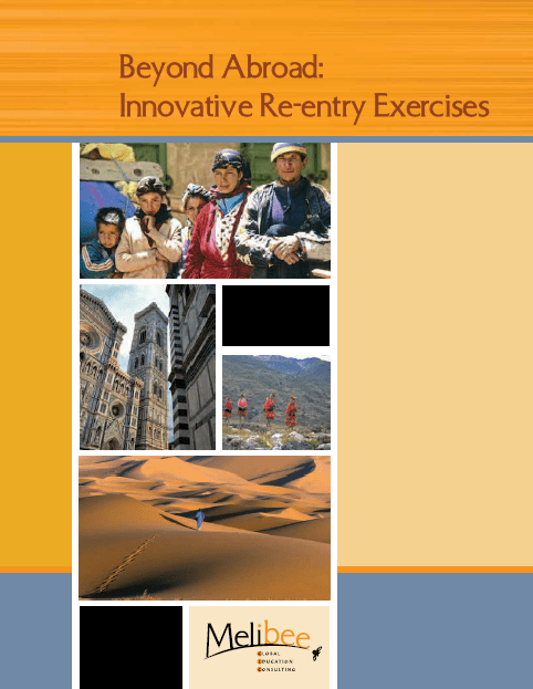 beyond abroad innovative re-entry exercises