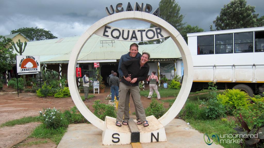 At the Equator, Uganda.