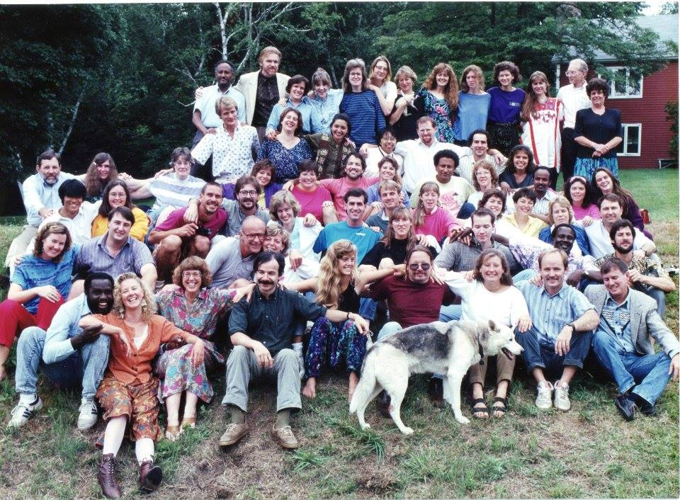 My SIT classmates, circa 1992, Brattleboro, VT