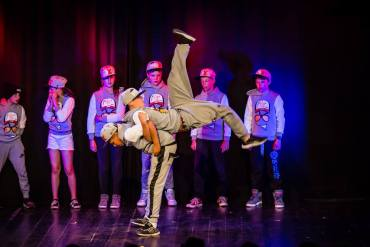 Spectacle de hip hop et variantes