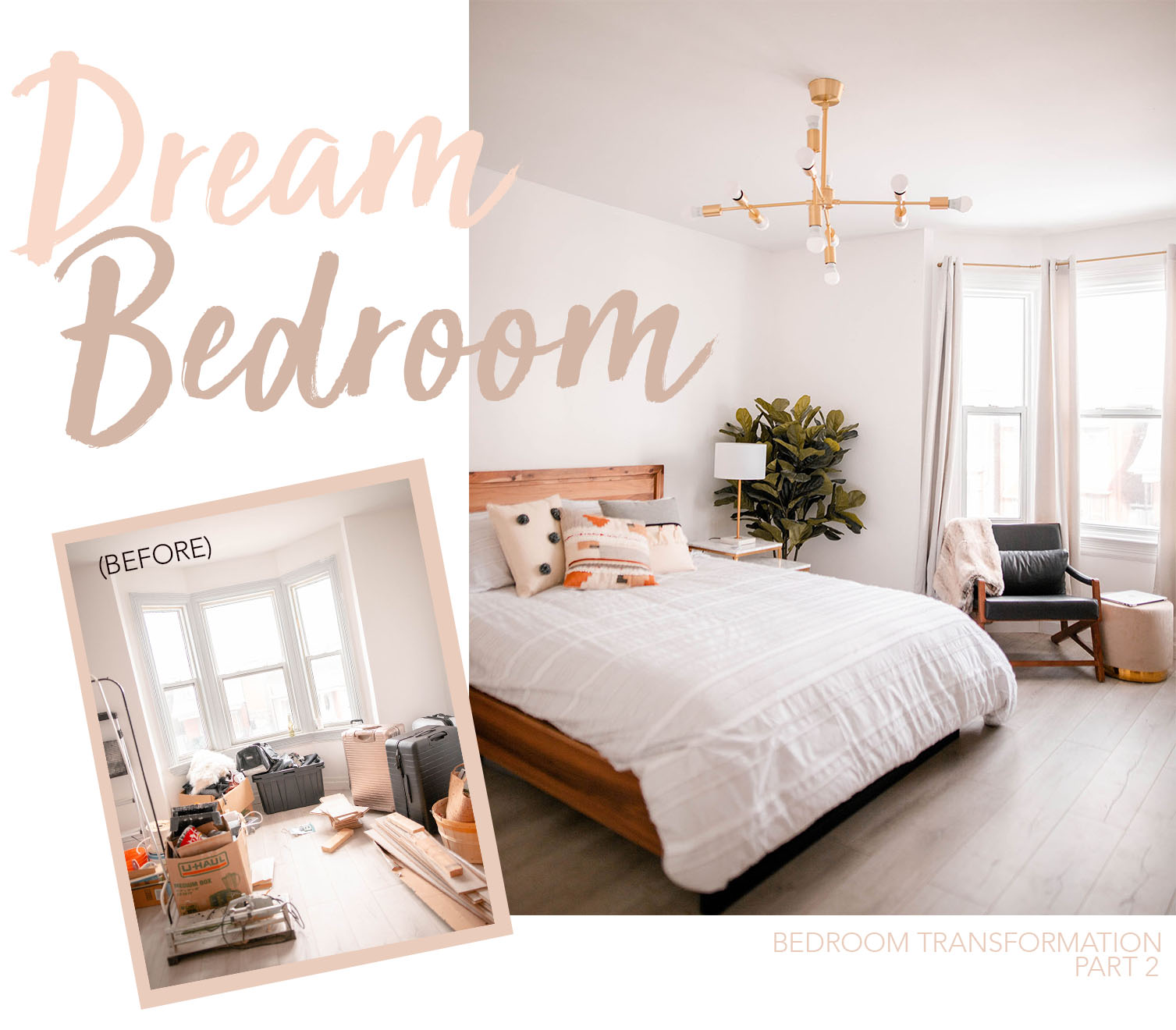 Structube Beds Bedroom Transformation Part 2 Final Reveal Mel Inspired