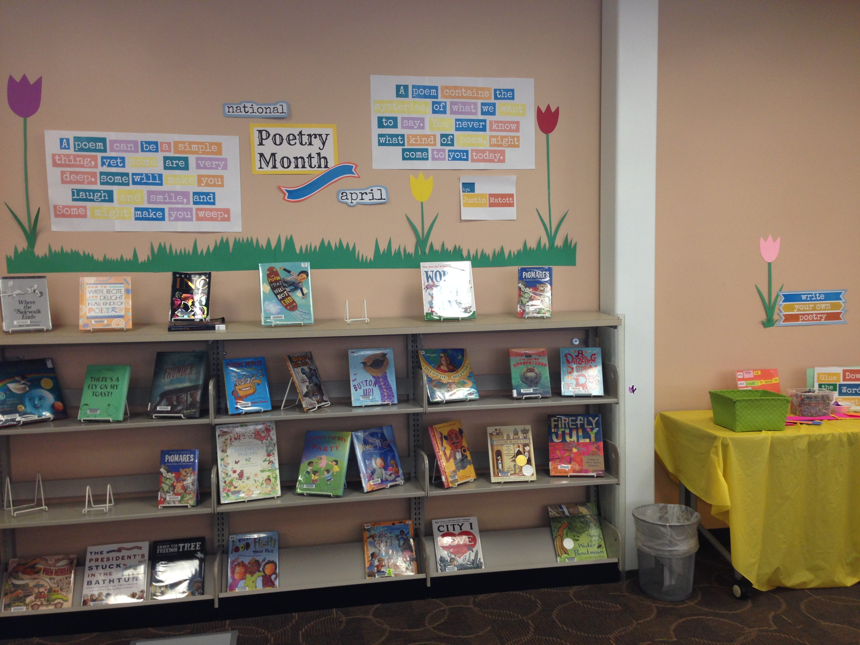 Thrive Thursday Write Your Own Poetry Display Mel39s Desk