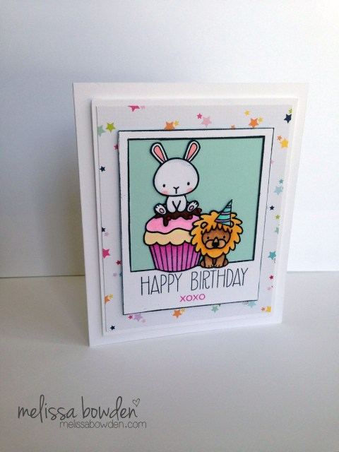 Birthday Cupcake- Melissa Bowden