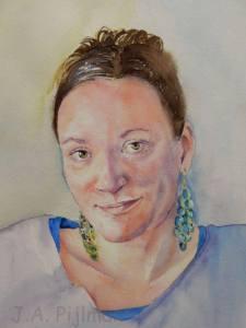Joannas portrait day 1