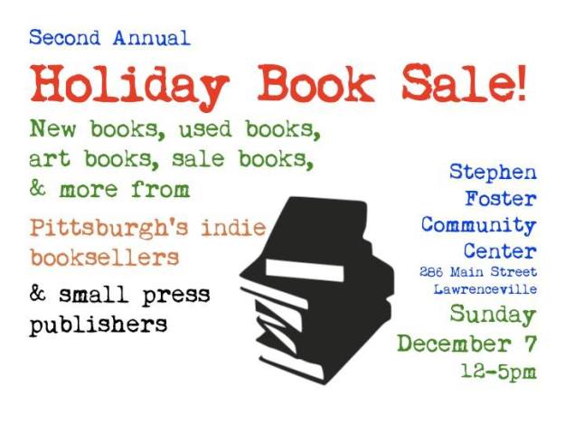Small Press Pittsburgh Holiday Book Sale