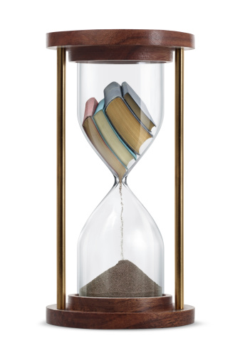 Books Transform in Hourglass