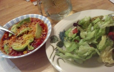 Tortilla Soup and Salad - 5-9-2016
