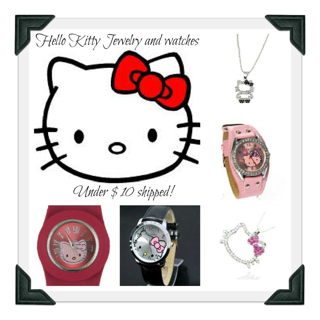 Hello Kitty Bettwäsche Aldi Hello Kitty Watches And Jewelry Under 10 Shipped