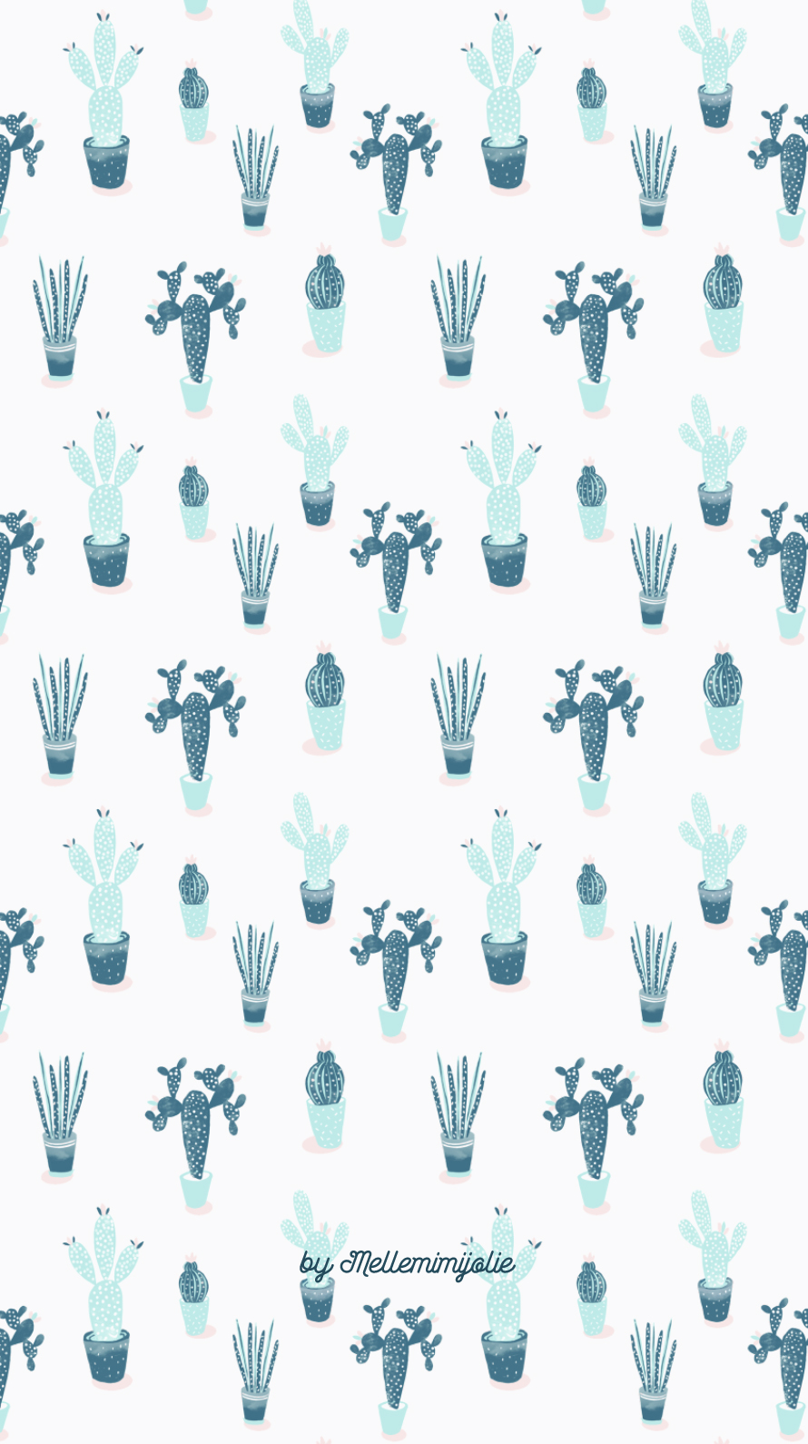Arrow Wallpaper Cute Cactus Le Fond D 233 Cran Mellemimijolie