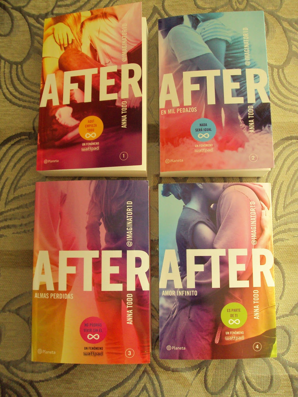 After Libros Orden Saga After Anna Todd Mell Chris24