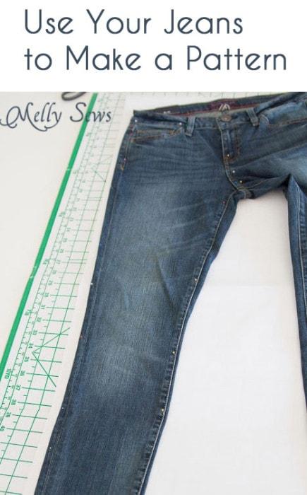 Sew Jeans for Yourself - Rub Off Pattern - Melly Sews