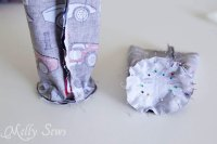 Sew a Water Bottle Holder - Melly Sews