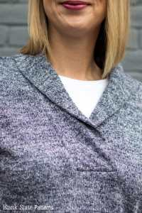 How to Sew a Shawl Collar - Melly Sews