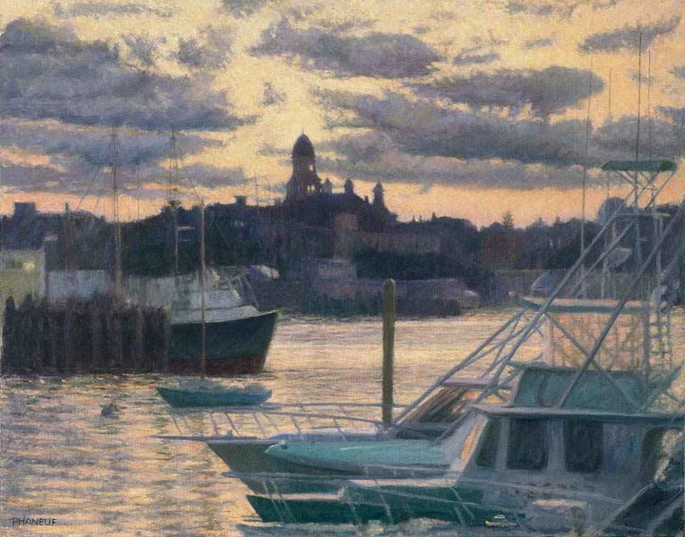 214-Harbor-Sunset-marine-painting-gloucester-ma-960w