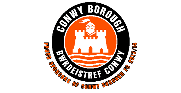 proud sponsors of conwy borough fc