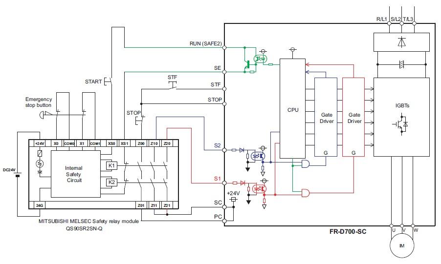 mitsubishi fr d700 wiring diagram