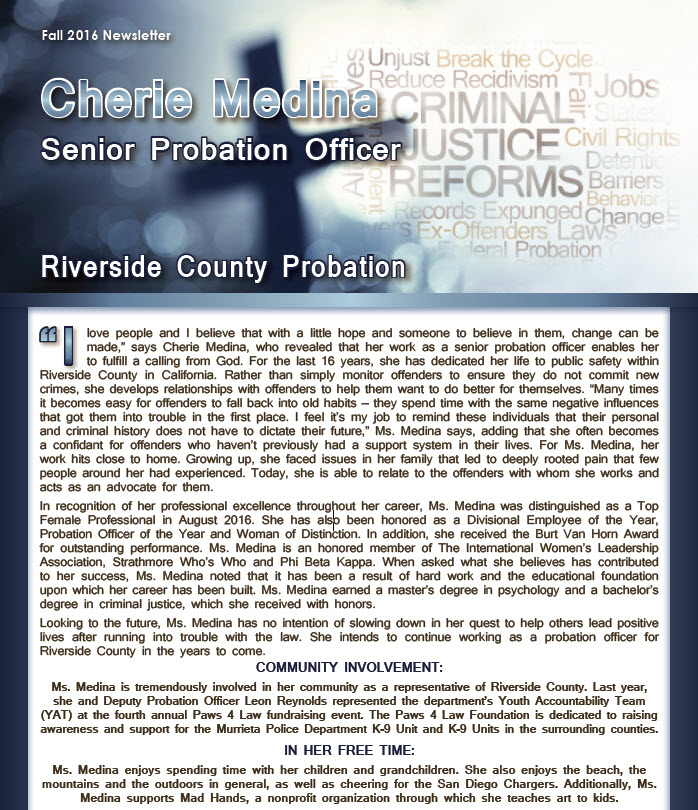 Cherie Medina \u2013 Worldwide Member Newsletters