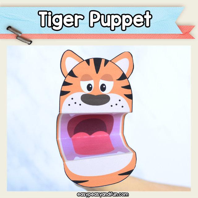 Tiger Puppet Printable \u2013 Easy Peasy and Fun Membership