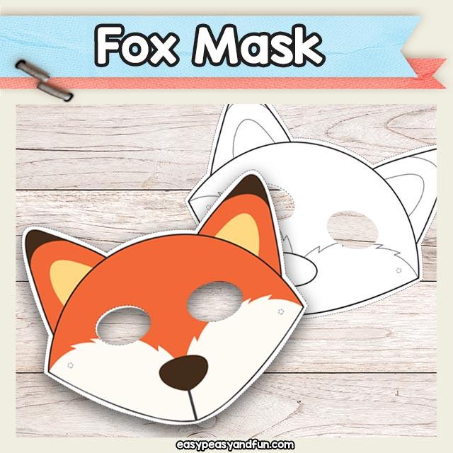 Fox Mask Printable ablettervaultradio