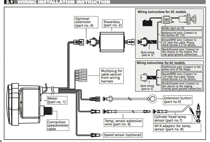 chinese lcd digital tachometer wiring diagram