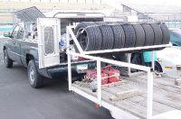 Photos of Trailer Tire Racks Please - Rennlist - Porsche ...