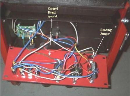 Portable generator neutral rewiring