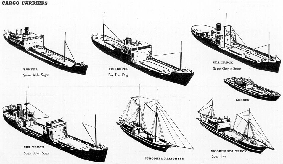 Barges, and luggers and sea trucks, oh my! (Beware 56kers (like me - types of ships