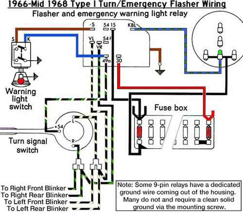 1958 Vw Wiring Diagram - Wiring Diagram Progresif