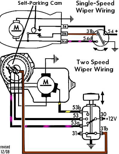 1969 Camaro Wiper Motor Wiring Diagram Wiring Diagram