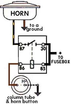 Volkswagen Horn Wiring Diagram Wiring Diagram
