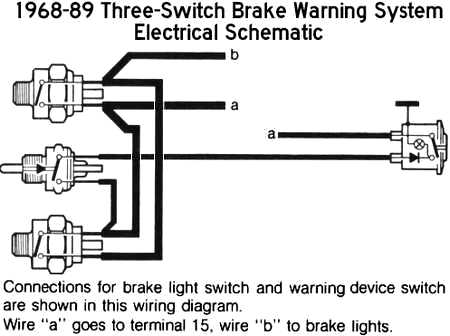 1969 Stop Light Circuit Index listing of wiring diagrams