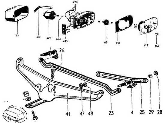 1967 vw wiper motor wiring