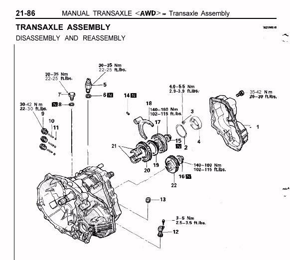 mitsubishi transmission tech information