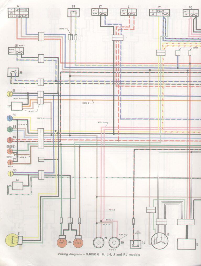 Xj650 Wiring Diagram - Data Wiring Diagram Update