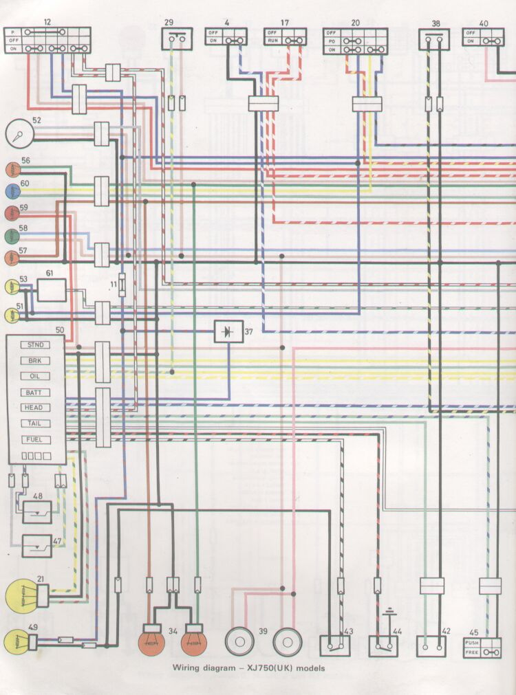 Xj550 Wiring Diagram Wiring Diagram