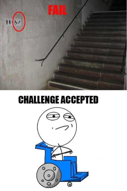 Sillas Challenge Accepted | Www.meme Adictos.org