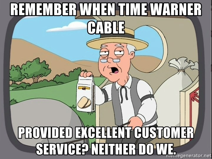 REMEMBER WHEN TIME WARNER CABLE PROVIDED EXCELLENT CUSTOMER SERVICE