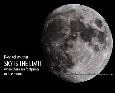 sky is the limit meme