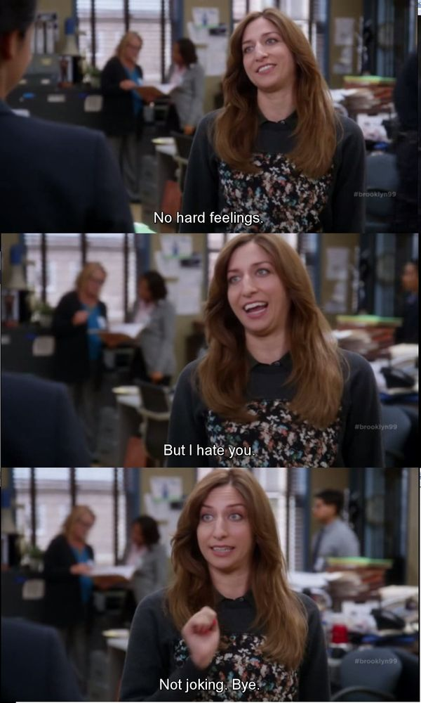 Sarcastic Wallpaper Quotes Brooklyn Nine Nine Meme Peralta Gina Terry From