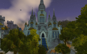 Light's Hope Cathedral in Stormwind City