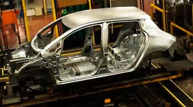 Nissan LEAF inicia producción en la planta de Sunderland, Reino Unido