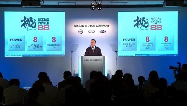 Nissan con ingresos netos de 342.4 mil millones de yenes para su año fiscal 2012
