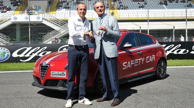 Alfa Romeo, patrocinador del autódromo de Monza