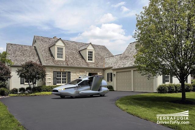 Terrafugia TF-X: el primer auto volador híbrido