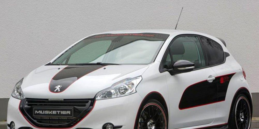 Peugeot 208 preparado por Musketier